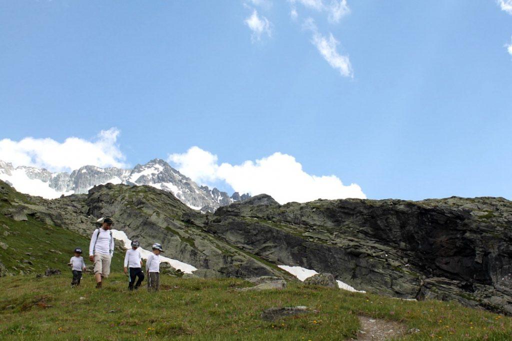 Ranskan Alpit kesällä