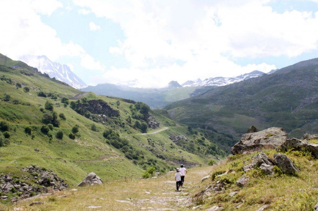 Ranskan Alpit kesällä / Les Menuires