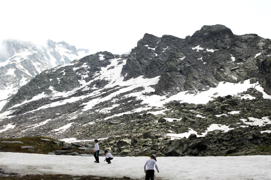 Alpit kesällä / Val Thorens