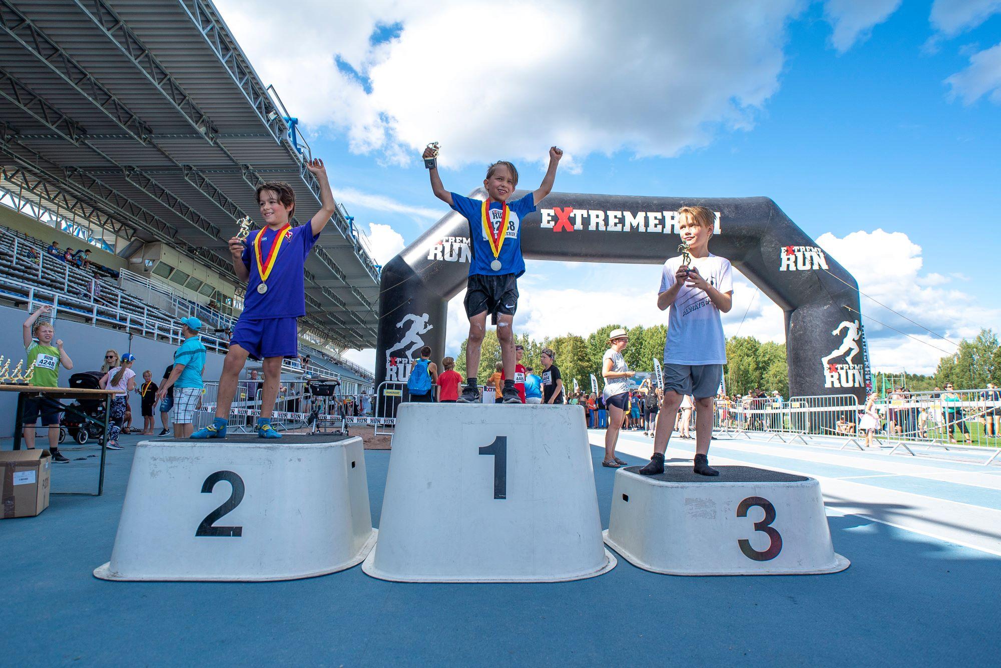 Lasten hauskat juoksukilpailut – 10 poimintaa loppuvuodelle