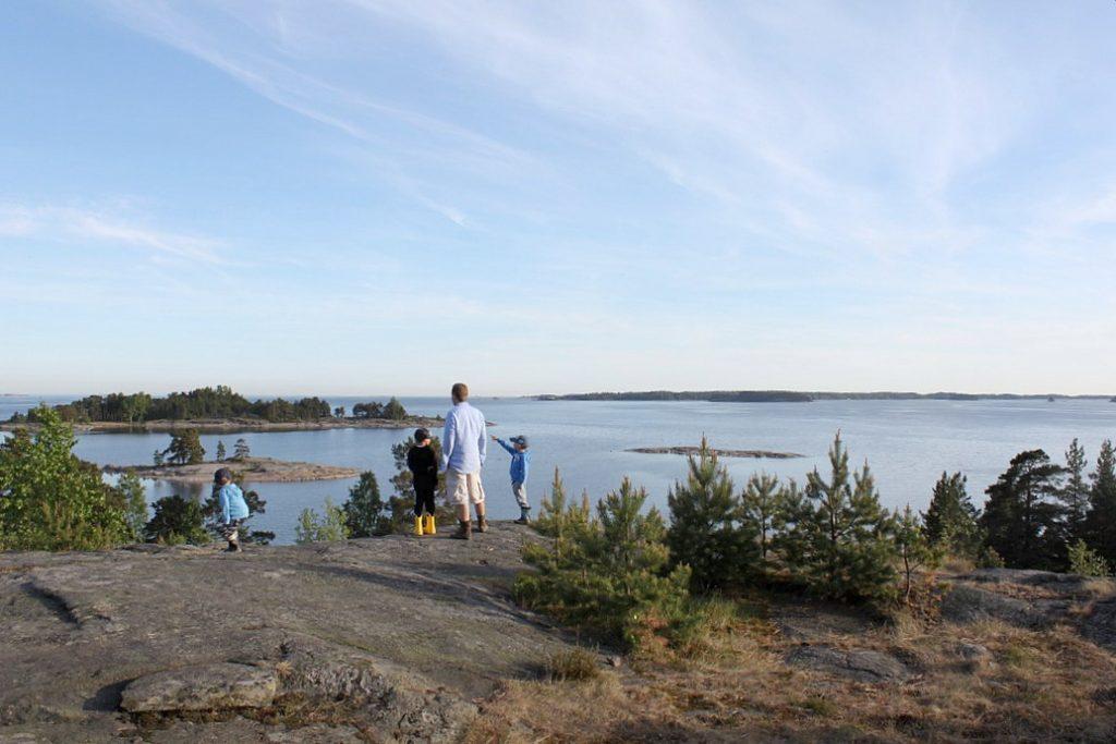 Kopparnäs / Inkoo / Telttailu lasten kanssa