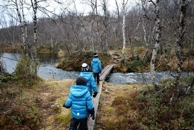 Sulaojan luontopolku / Karigasniemi / Kevon luonnonpuisto