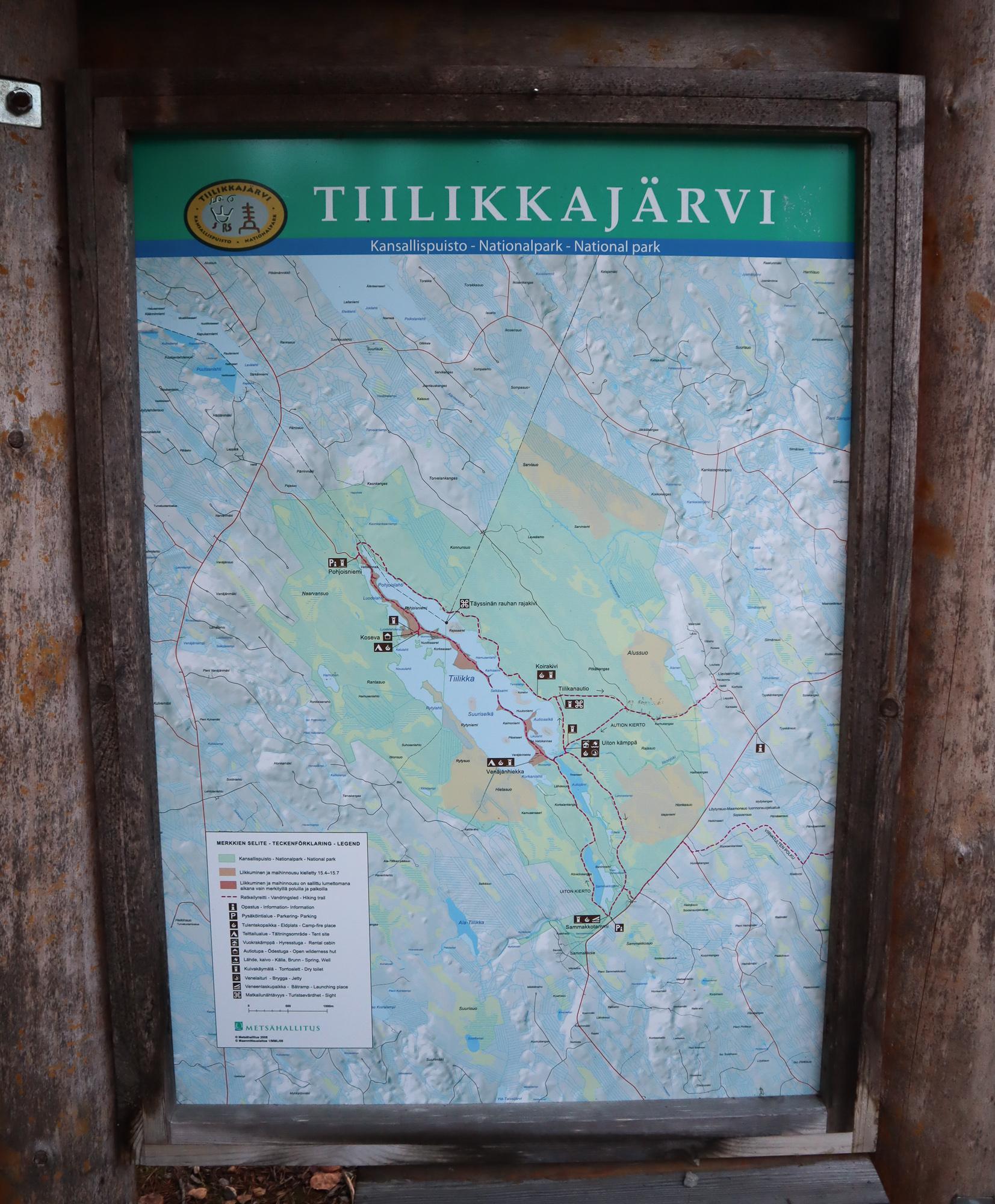 Tiilikkajärven kansallispuisto