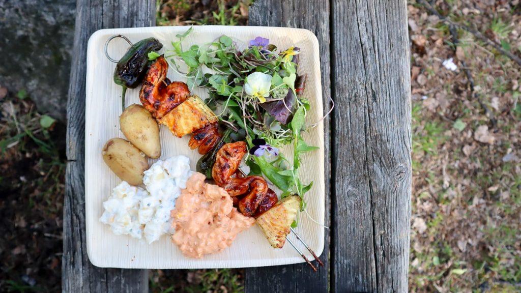 Retkiruokaa / Ruokaa nuotiolla / Nuotiogrillaus