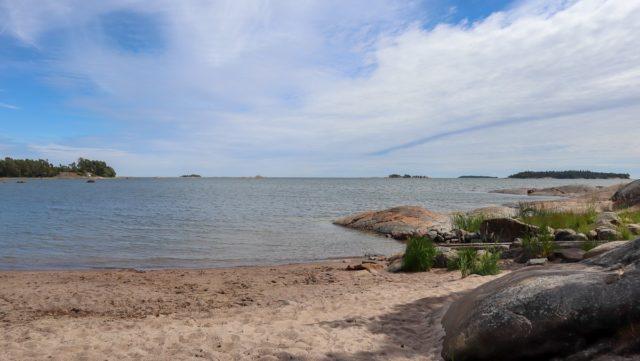 Saaristomuseo Pentala / Diksandin hiekkaranta