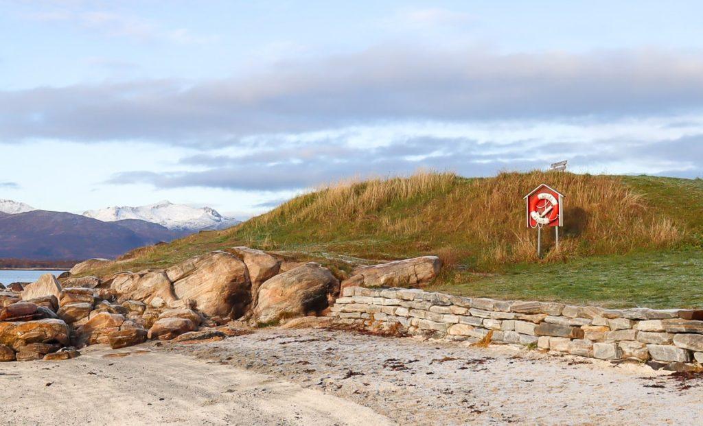 Tromssan rannalla