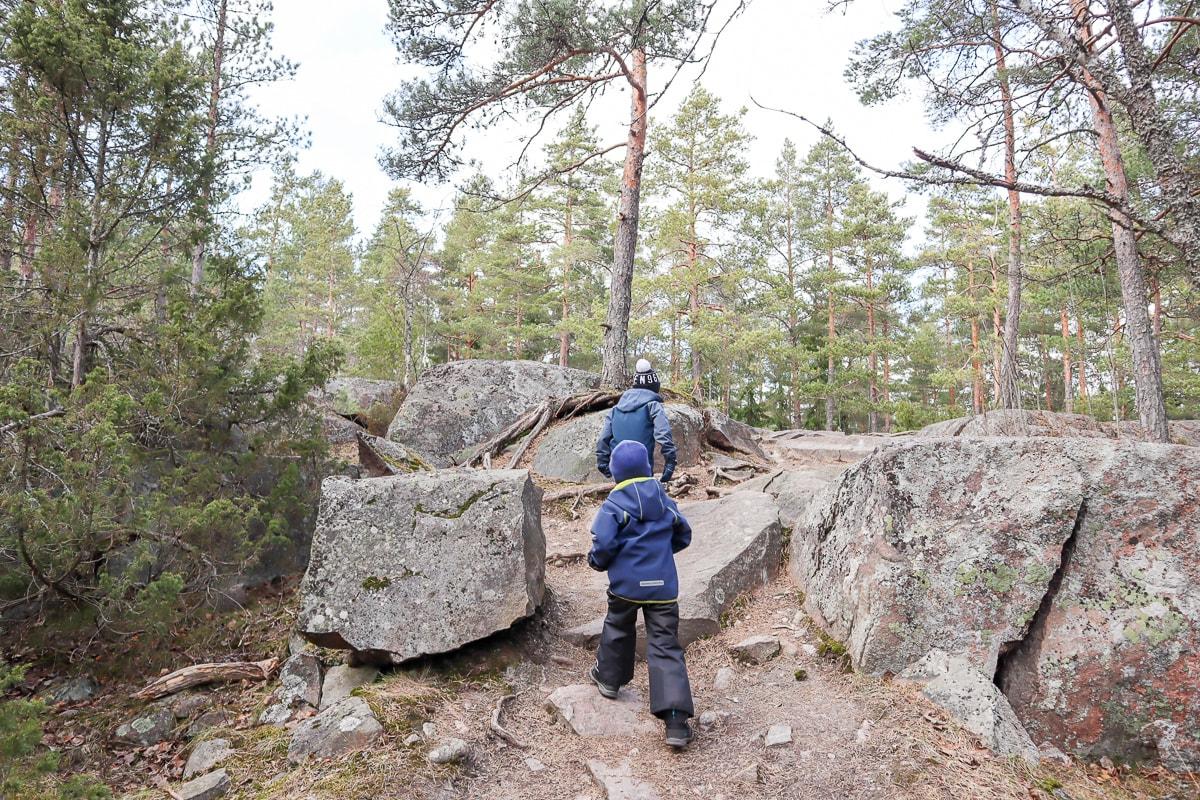 Hannusmetsän luontopolku – espoolainen lähiretkikohde Länsiväylän kupeessa