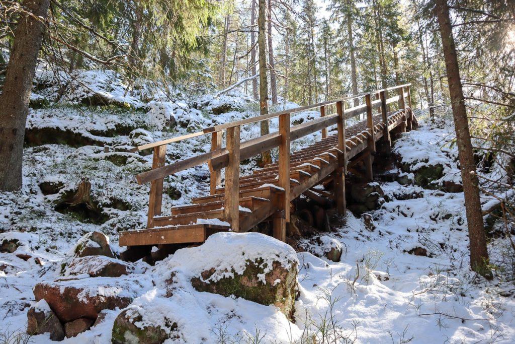 Portaat Mummusalin huipulle / Palakoski