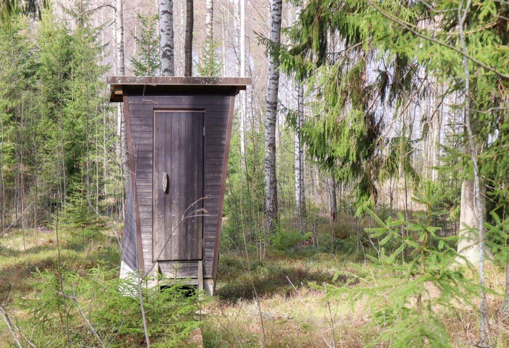 Onkimaanjärven ulkoilualue / käymälä