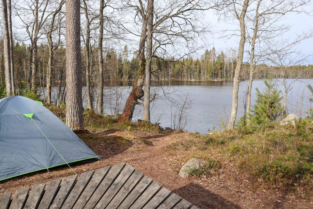 Telttaretki lasten kanssa / Onkimaanjärvi
