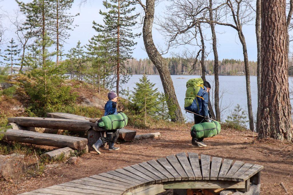 Onkimaanjärvi / kotia kohti