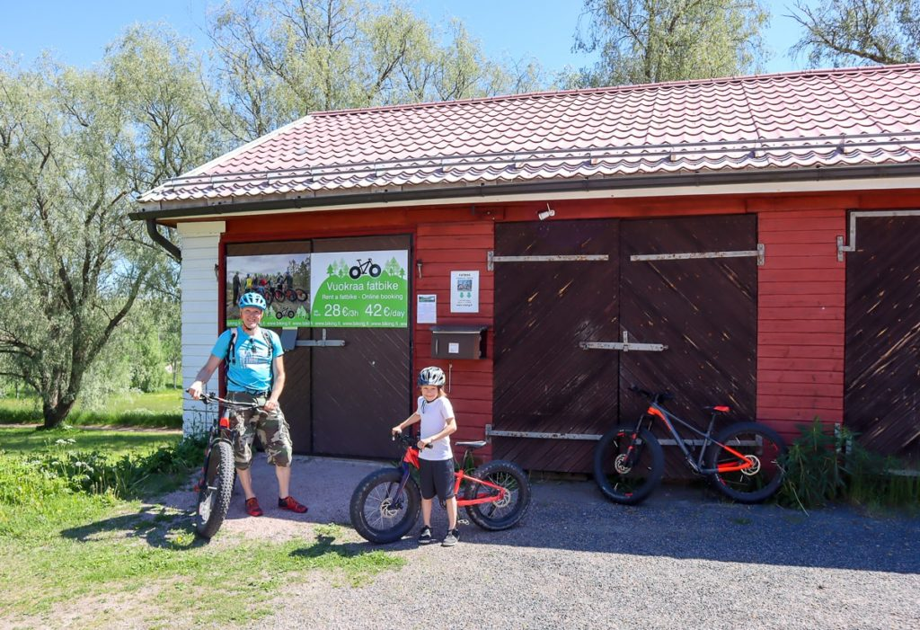 Biking.fi Nuuksion Pohjoisella Portilla