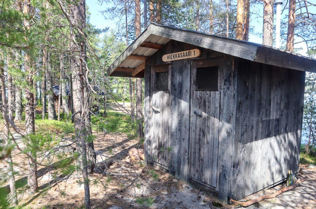 Koli kansallispuisto / isompi Hiekkasaari