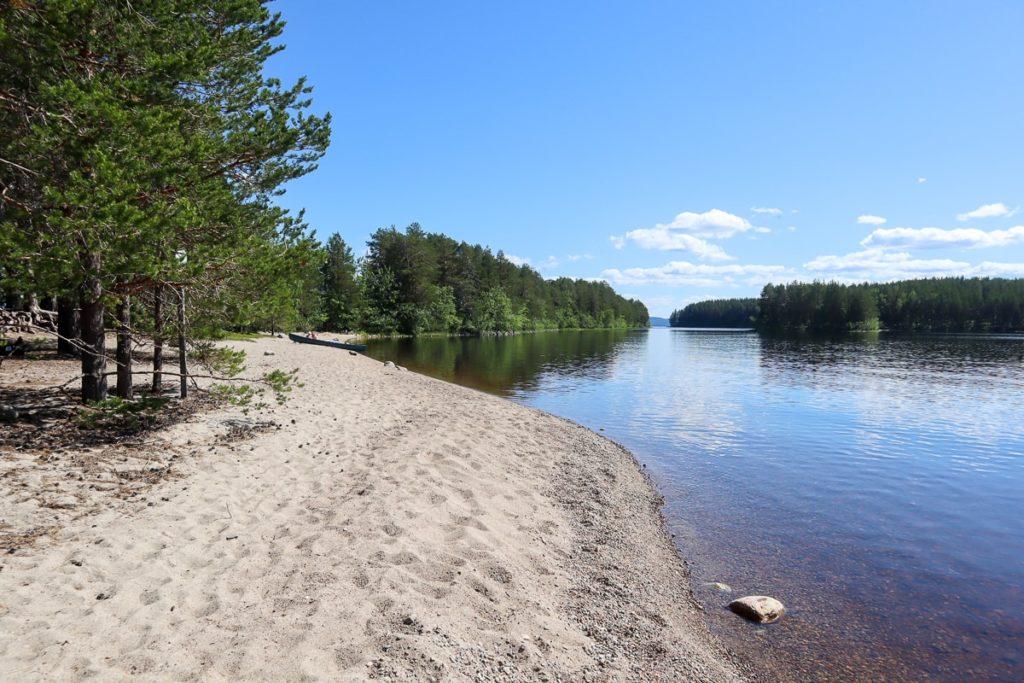 Kolin kansallispuisto / isompi Hiekkasaari