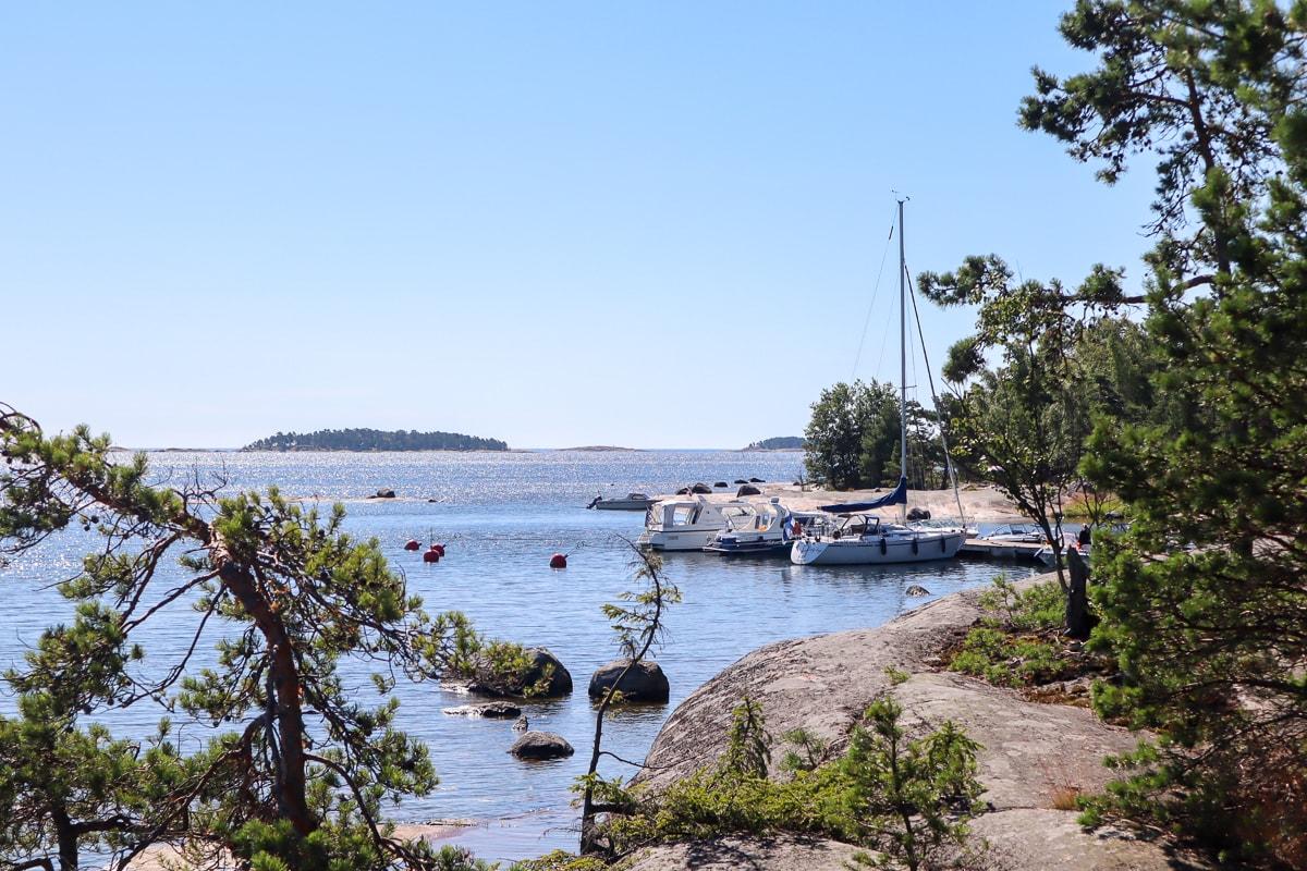 Unelmien veneretki Kirkkonummen Stora Brändö -saareen