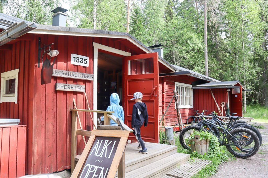 Heretyn kämppä / Isojärven kansallispuisto