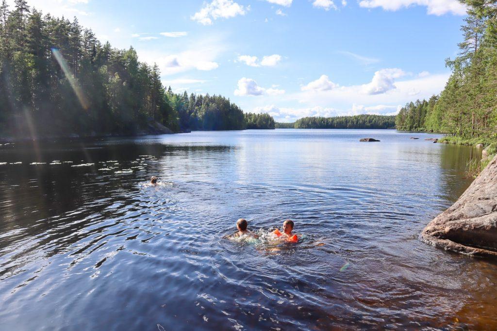 Kurkijärvi / Isojärven kansallispuisto