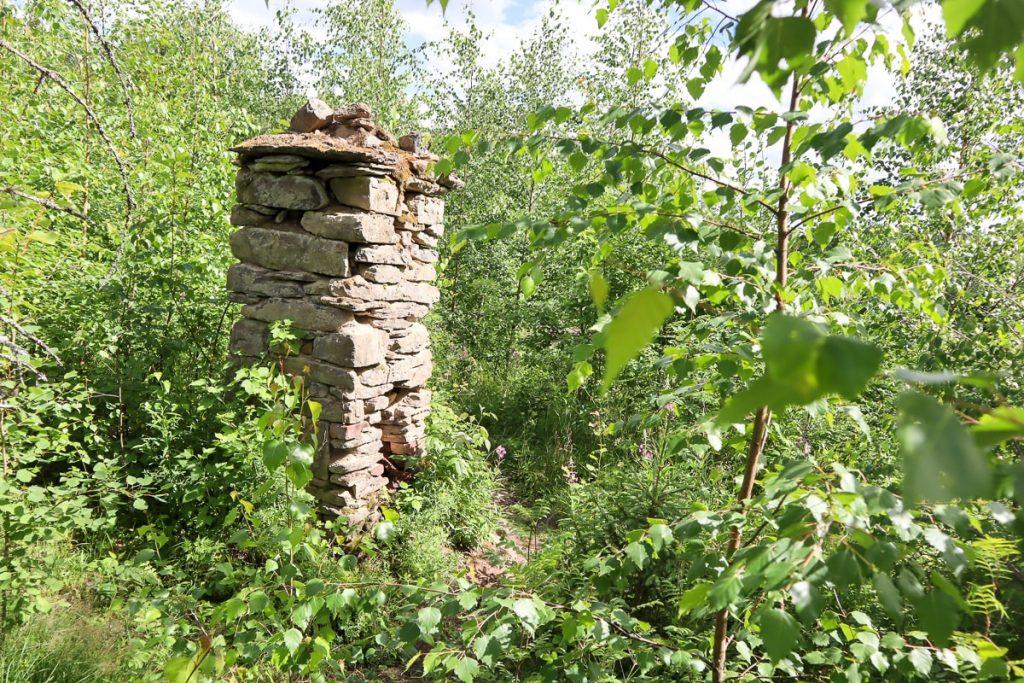 Vanhan uunin rauniot / Etelä-Konneveden kansallispuisto
