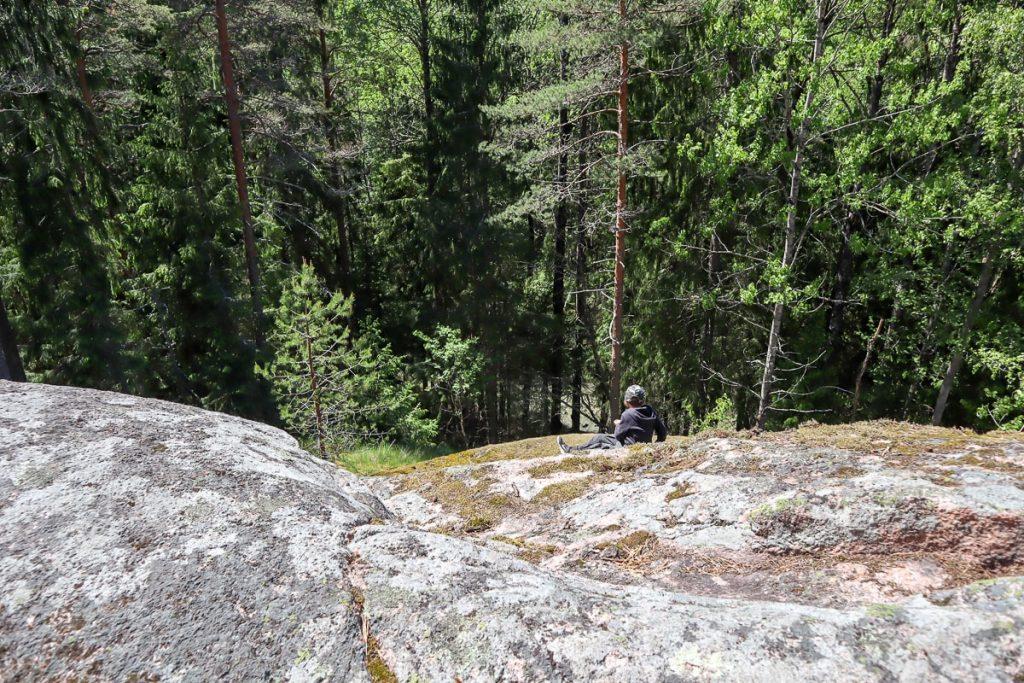 Oittaan kallioilla