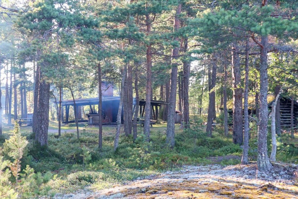 Stora Svartö / yksi keittokatos