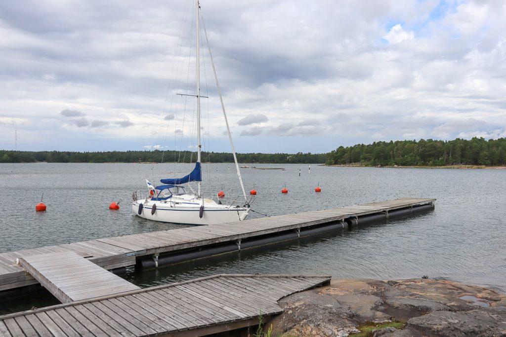 Stora Svartö / satama