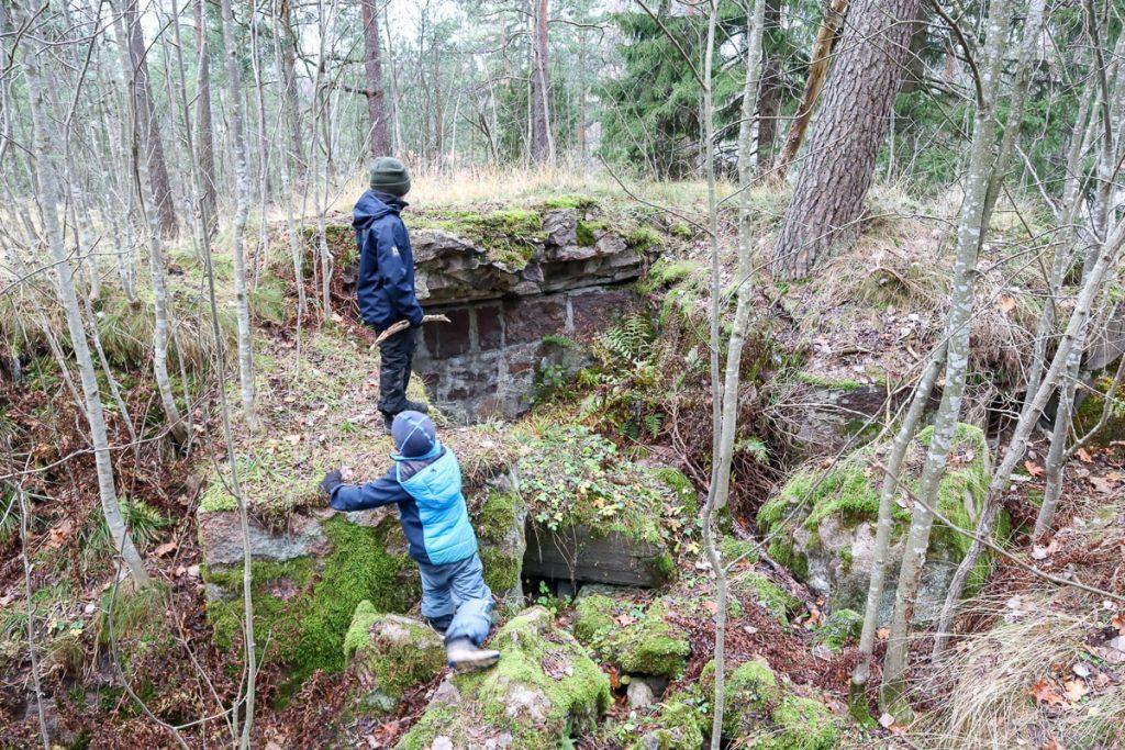 1. maailmansodan linnoitusketju / Espoo / Laajalahti
