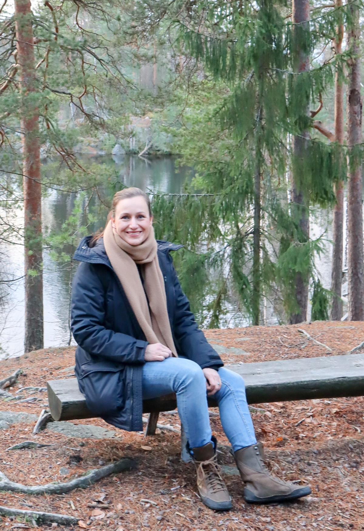 Korpilammen rannalla / Johanna Kleemola