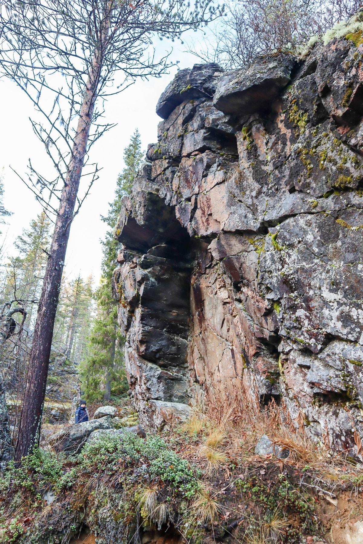 Suomen pohjoisin kalliomaalaus / Kolari
