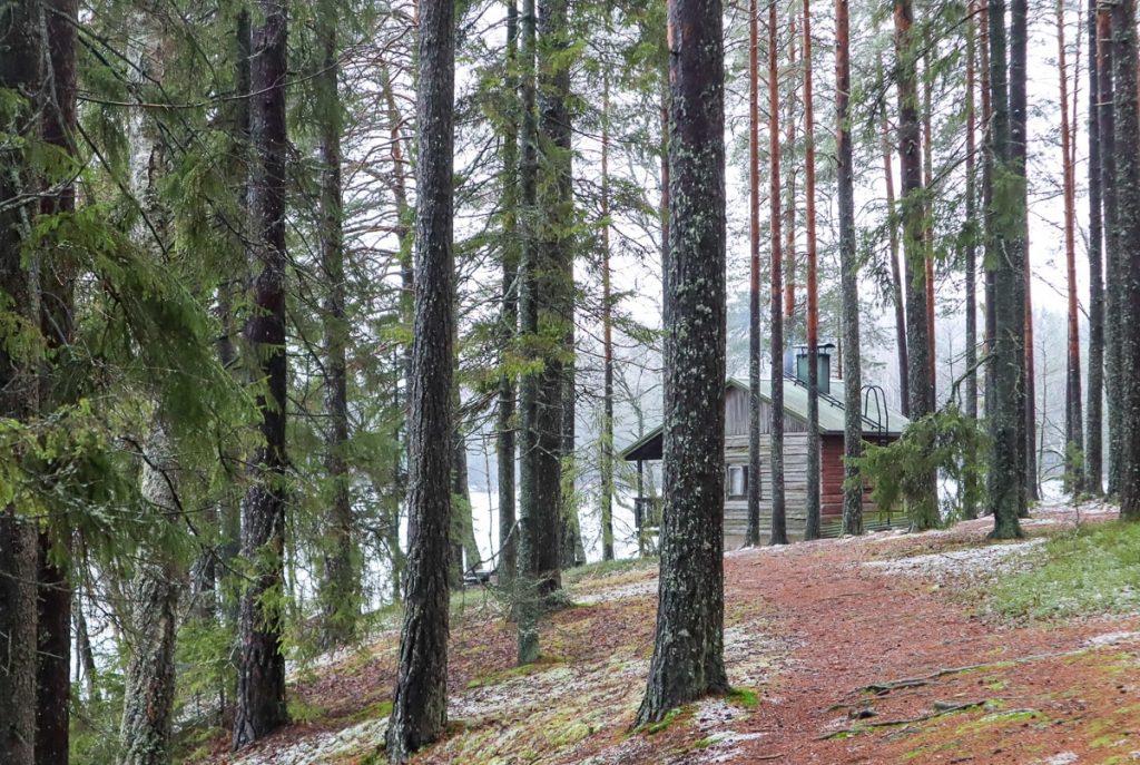 Iso-Valkeen sauna