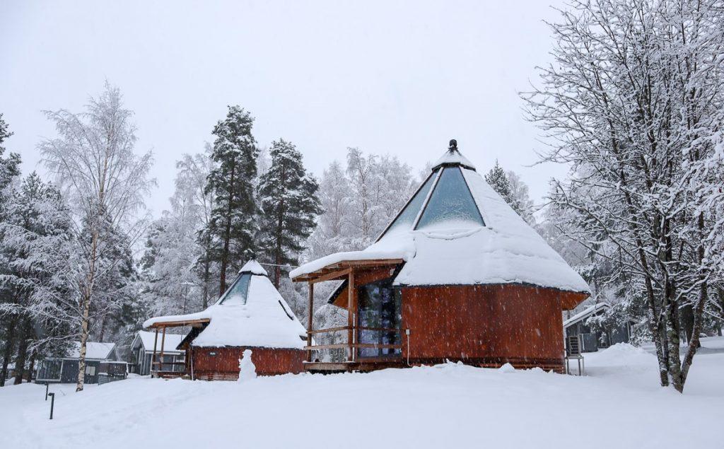 Saana-tiglo / Revontuli Resort / Hankasalmi / Lasi-iglu