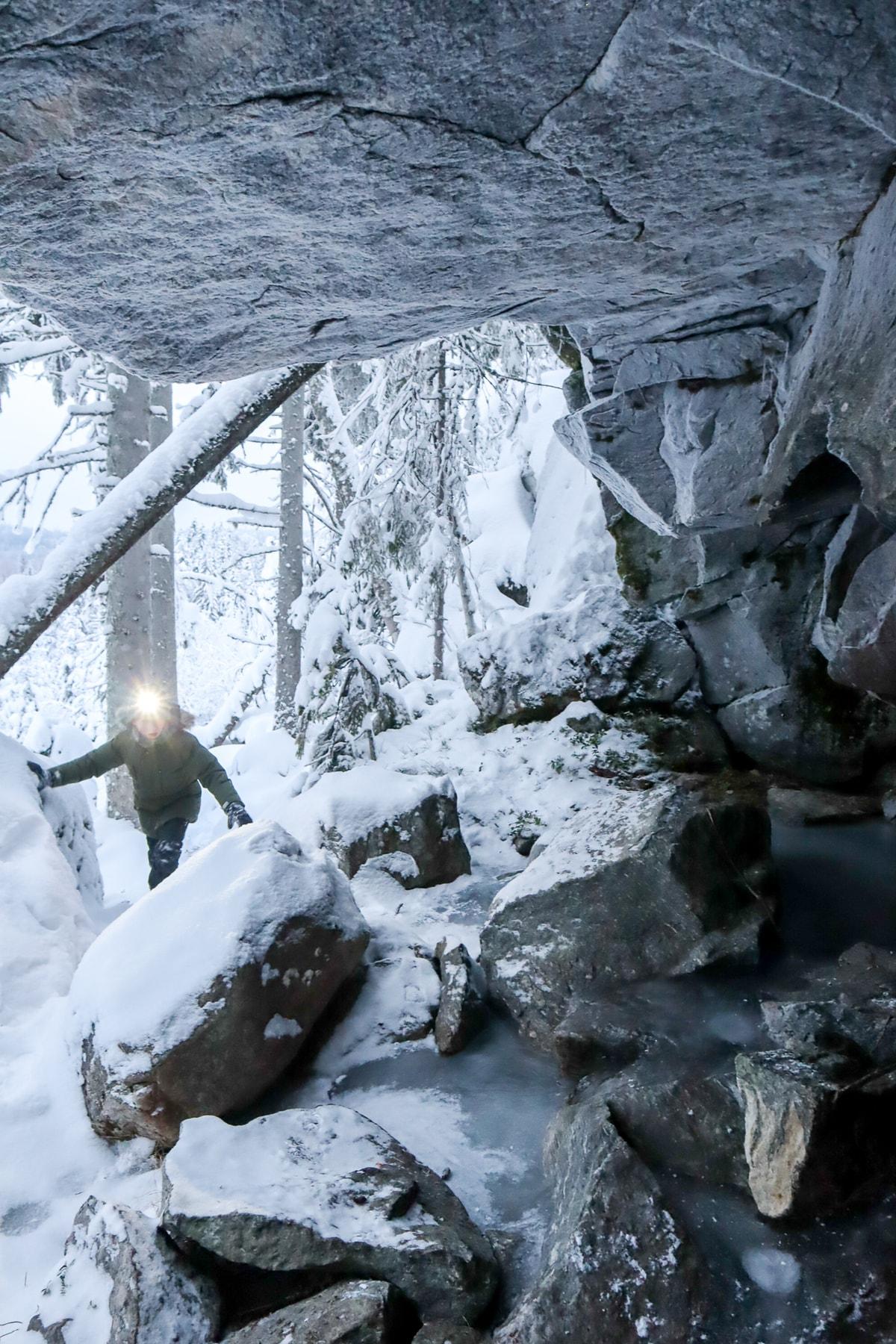 Kivimäki / luola / Hankasalmi