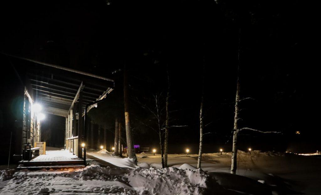Savusauna / Revontuli Resort / Hankasalmi