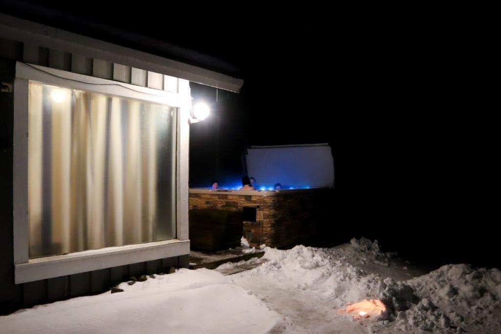 Laguna-sauna / Revontuli Resort