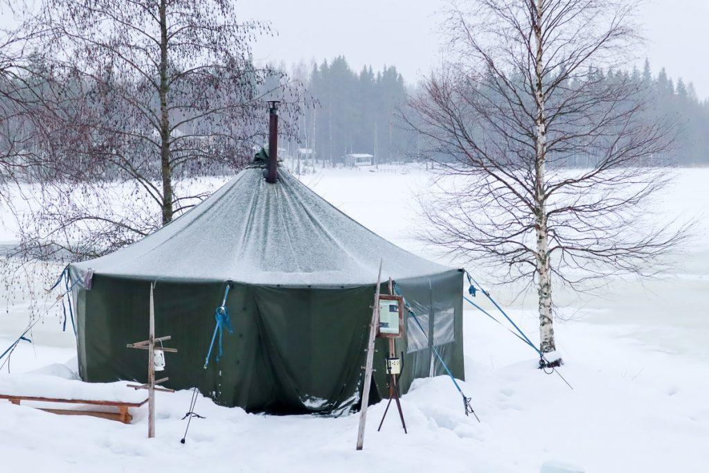 Telttasauna / Revontuli Resort / Hankasalmi