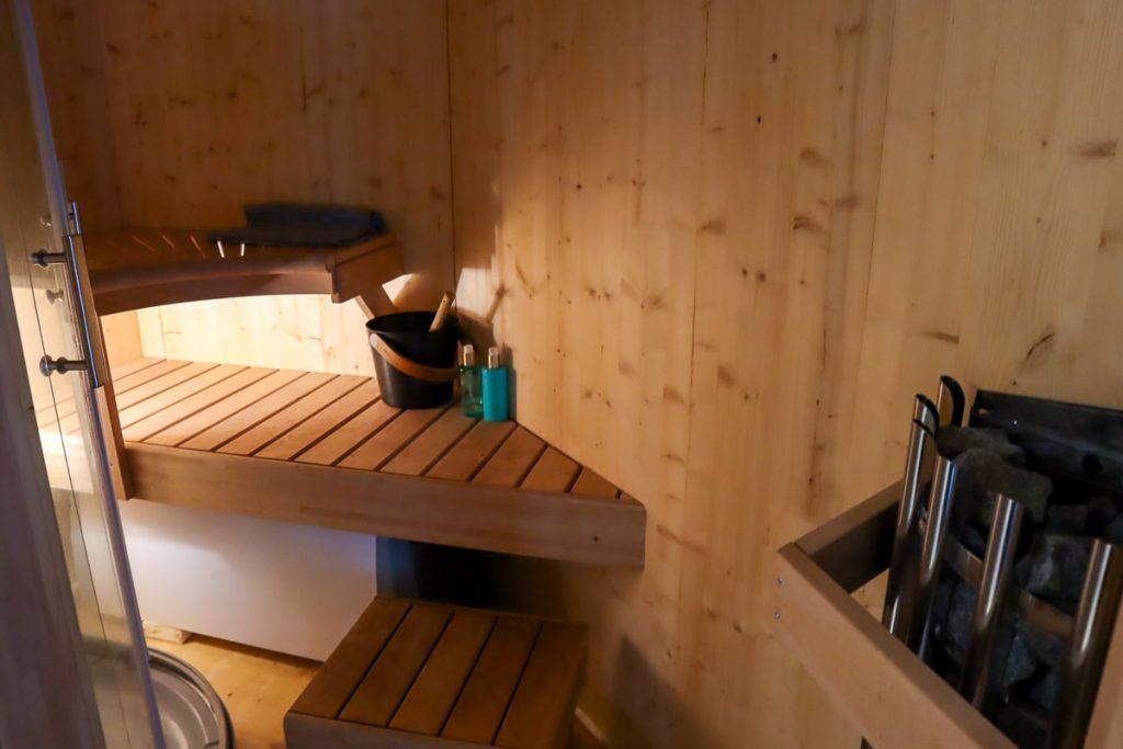 Saana Tiglo / Sauna / Revontuli Resort