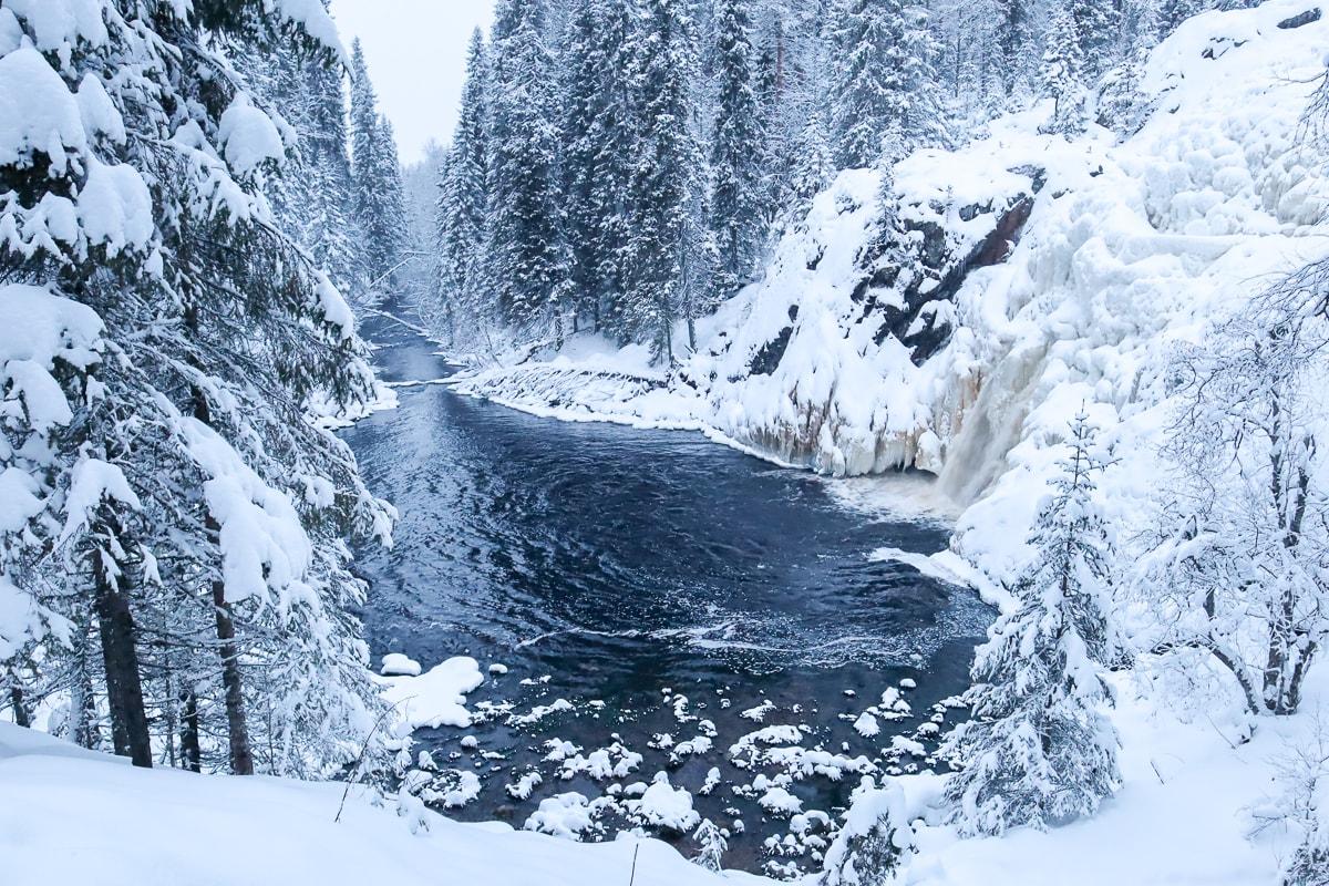 Talvinen Hepoköngäs – Pikaretki kuuluisalle vesiputoukselle