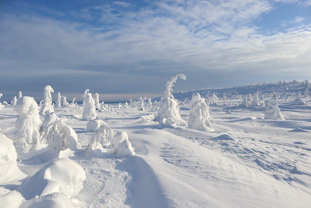 Talvinen Riisitunturi