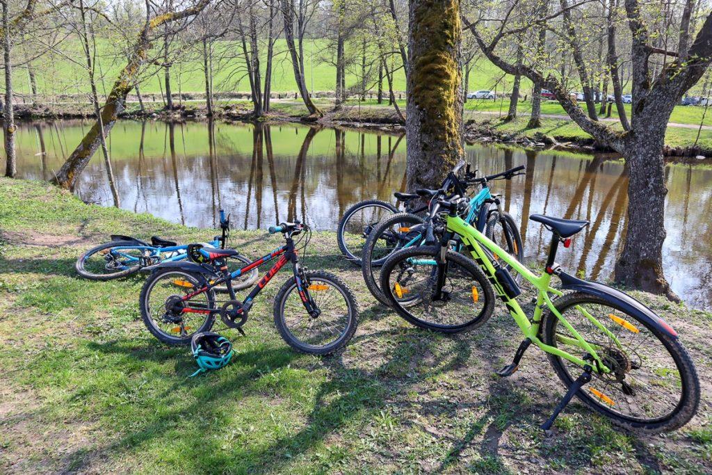 Maastopyöräily lasten kanssa / Fiskars