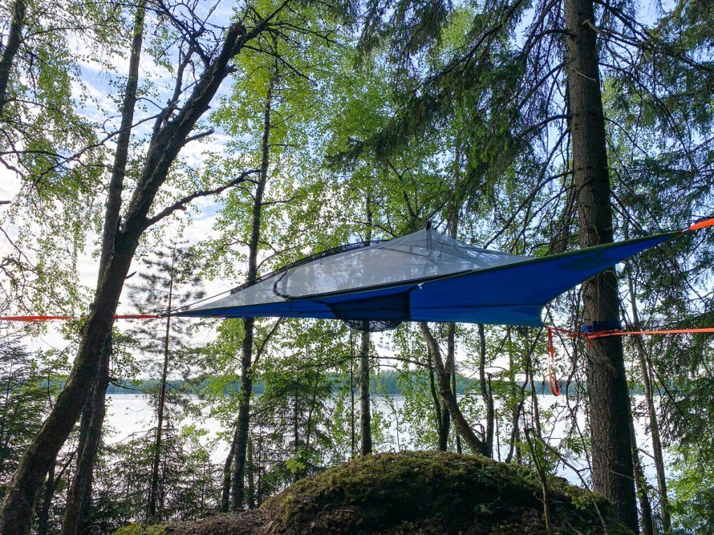 Elämyspuisto GoPark / Tentsile Experience Camp Akaa