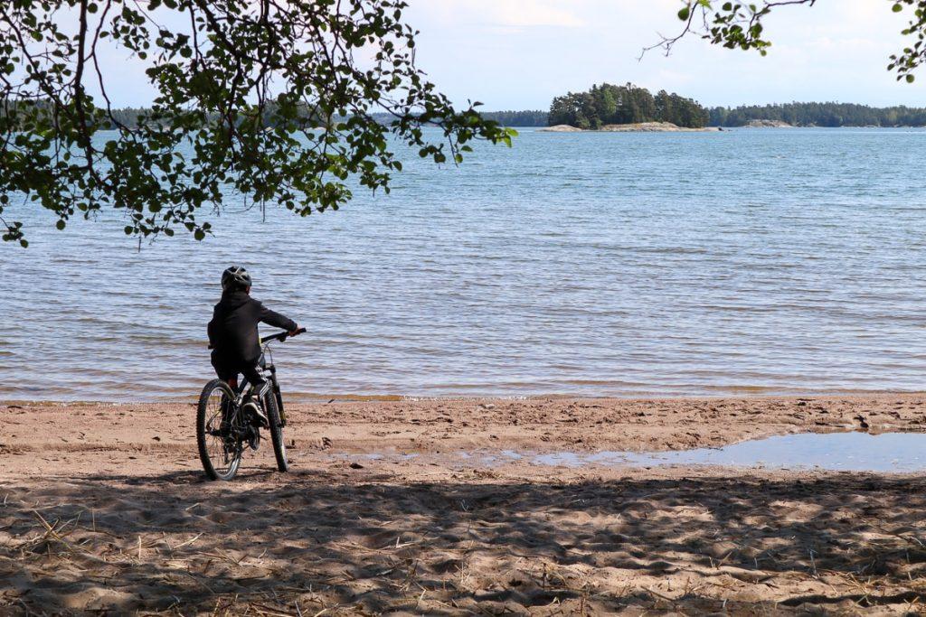 Kopparnäs / pyöräily