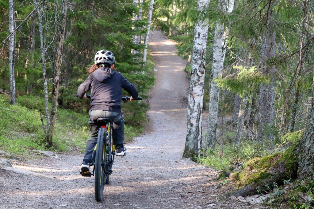 Luukki / maastopyöräily lasten kanssa