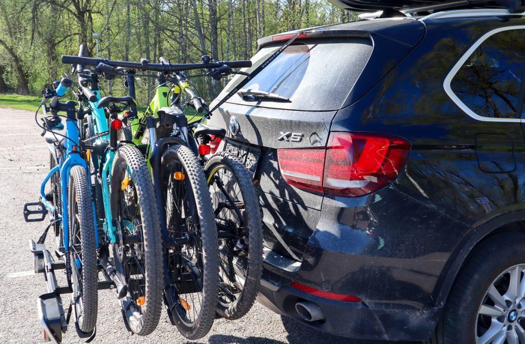 Pyöränkuljetusteline / Bikester.fi