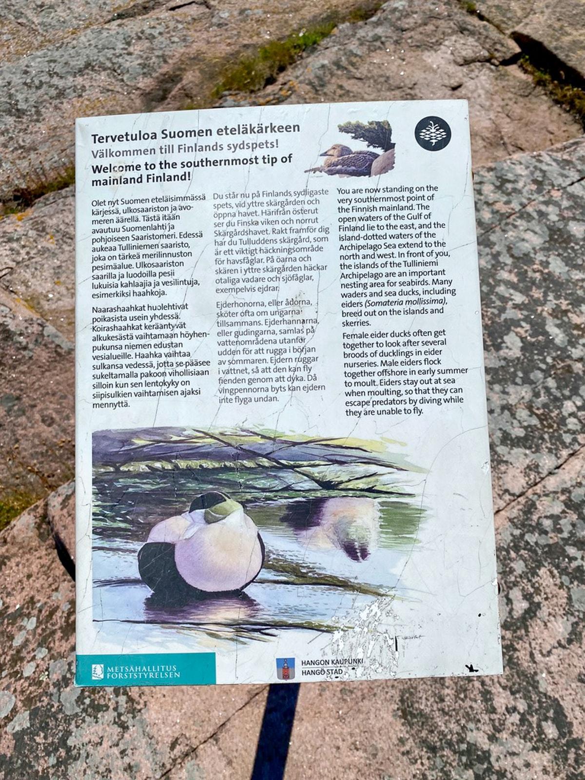 Tulliniemi / Uddskatan / Suomen eteläkärki