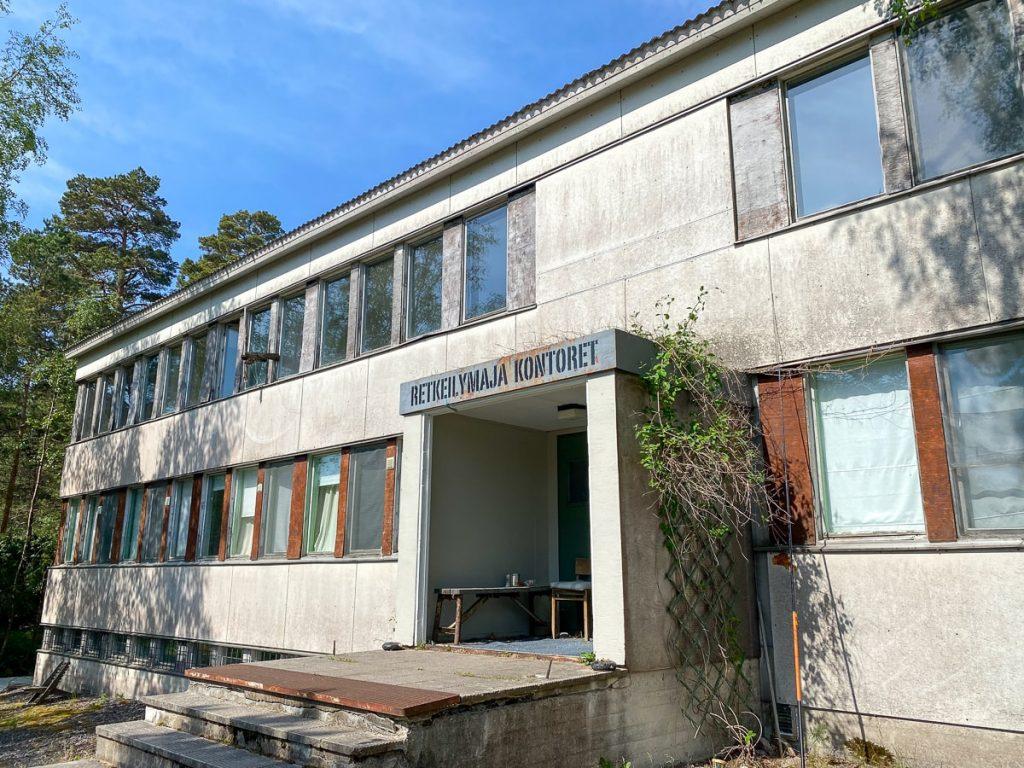 Jussarö / retkeilymaja