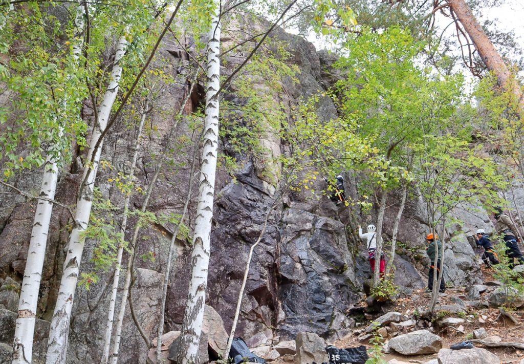 Kalliokiipeily / Nuuksio / Adventure Partners