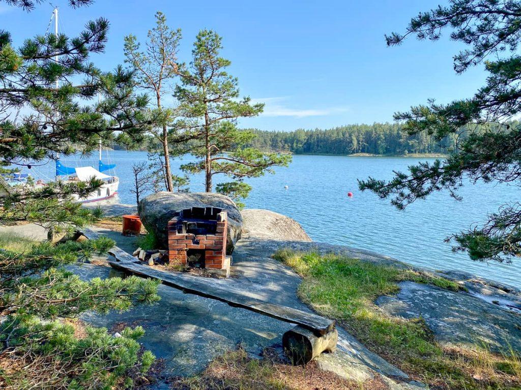 Retkisatama / Rödjan / Älgö / Tammisaaren kansallispuisto