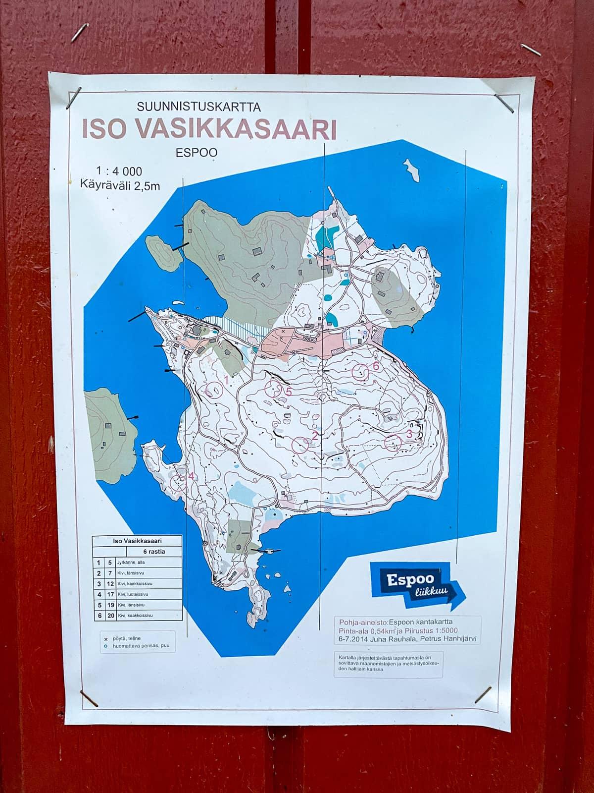 Iso Vasikkasaari / Espoo / Kiintorastit