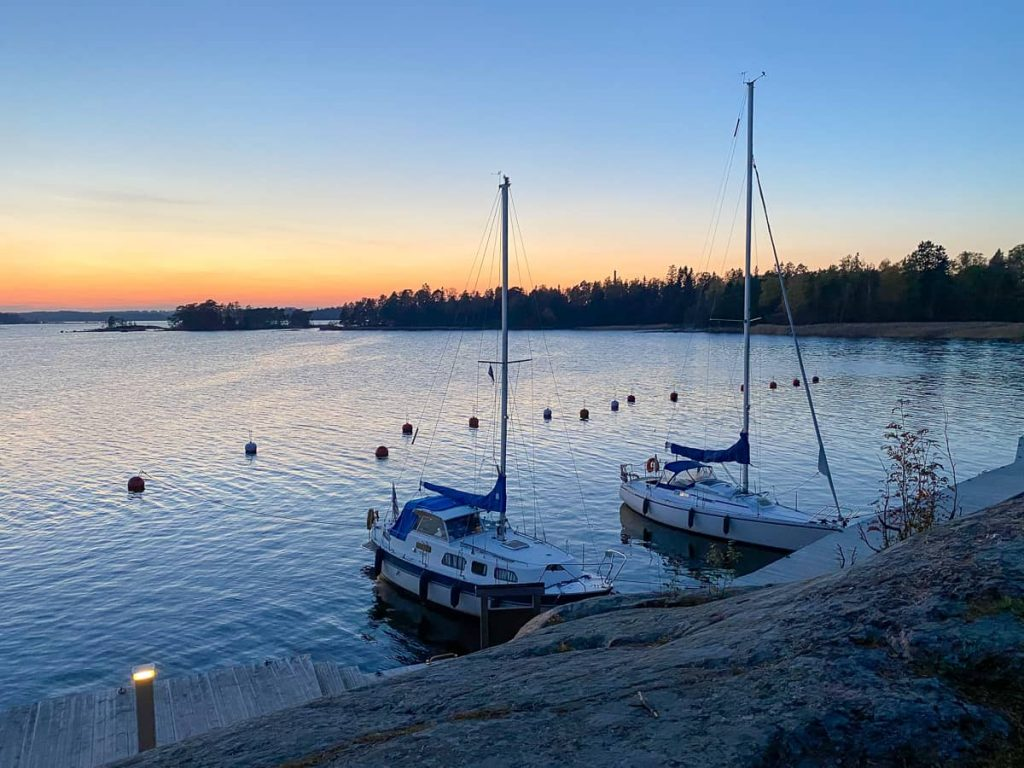 Iso Vasikkasaari / Espoo / Eteläinen vierasvenelaituri